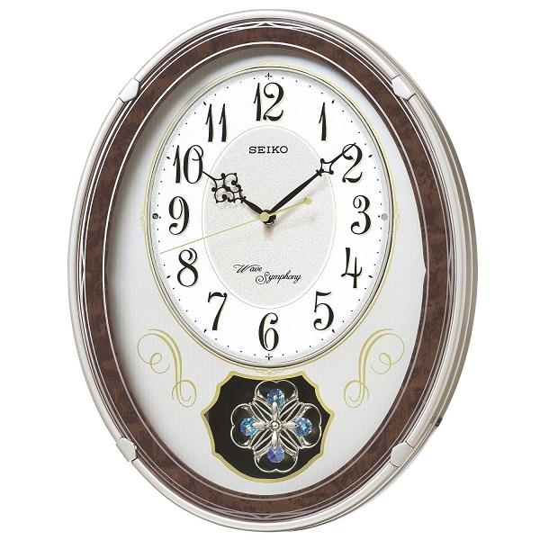 激安価格の SEIKO セイコー 電波クロック 掛け時計 カラクリ時計 AM259B ギフト 贈答品 新築祝い, ビスコンティ&きもの忠右衛門 bd7f8c50
