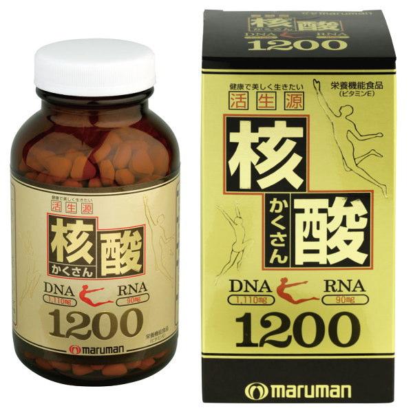 マルマン マルマン 核酸1200 サプリメント 600粒