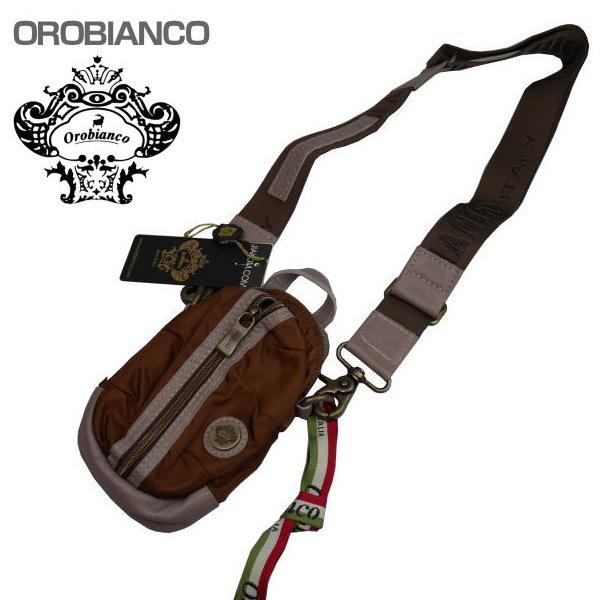 OROBIANCO オロビアンコ ショルダーバッグ ブラウン系 GRAFFIO MINI-G OR168 CIOCCOLATO-08 ギフト プレゼント