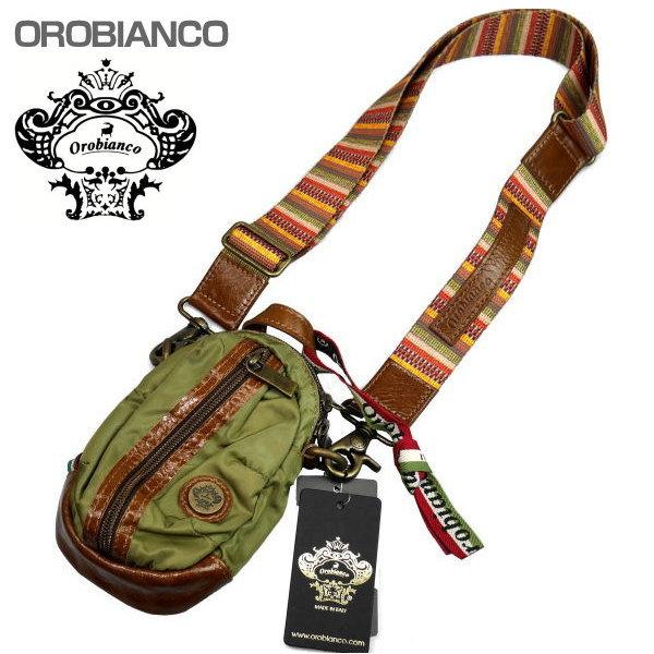 OROBIANCO オロビアンコ ショルダーバッグ グリーン系 GRAFFIO MINI-G OR168 MILITARE-10 ギフト プレゼント