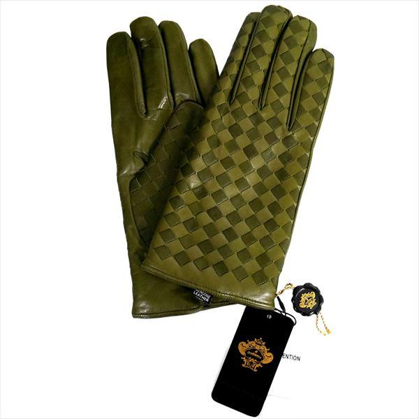 オロビアンコ 手袋 手ぶくろ グローブ カーキ 洋革 メンズ イタリー製 ORM-1407 ギフト プレゼント