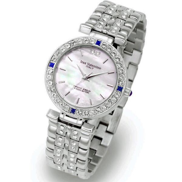工芸品のような高級感が漂うジュエリーコレクション アイザック・バレンチノ メンズ腕時計 IVG-9100-1 ギフト プレゼント 贈答品 記念品