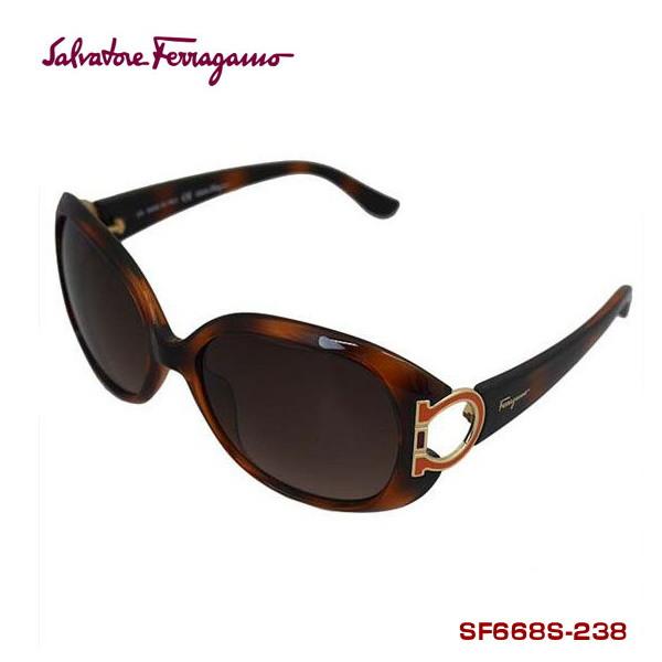 サルバトーレフェラガモ サングラス salvatore ferragamo SF668S-238 Dark Tortoise 正規代理店品