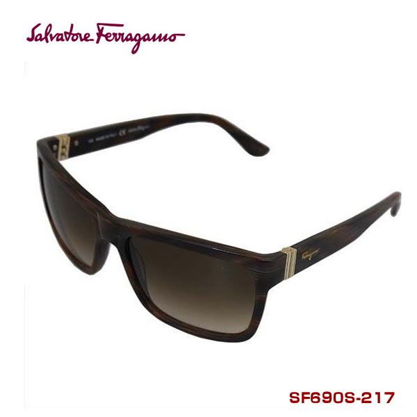 サルバトーレフェラガモ サングラス salvatore ferragamo SF690S-217 BROWN HORN 正規代理店品