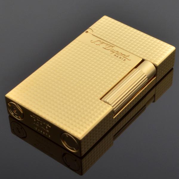 St.デュポン ST.DUPONT LINE2 ラインツー ガスライター 喫煙具 イエローゴールド 16284 正規品 ギフトプレゼント