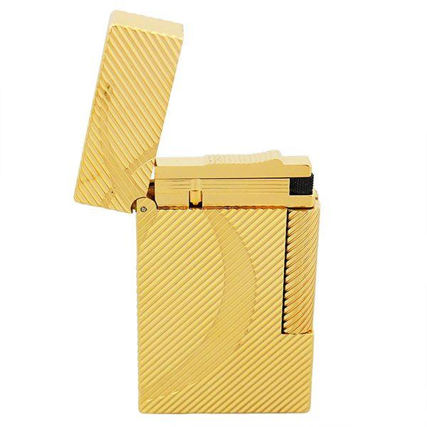 St.デュポン ST.DUPONT LINE2 ラインツー ガスライター 喫煙具 イエローゴールド 16429 正規品 ギフトプレゼント