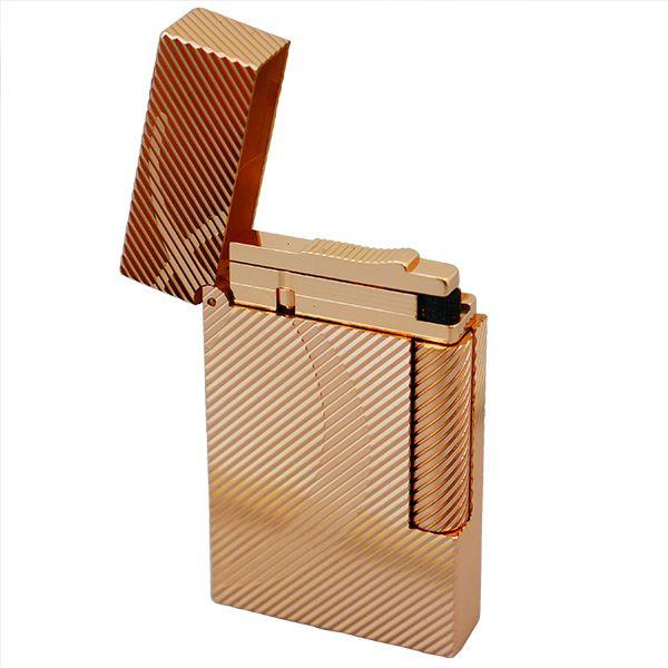 St.デュポン ST.DUPONT LINE2 ラインツー ガスライター 喫煙具 ピンクゴールド 16430 正規品 ギフトプレゼント