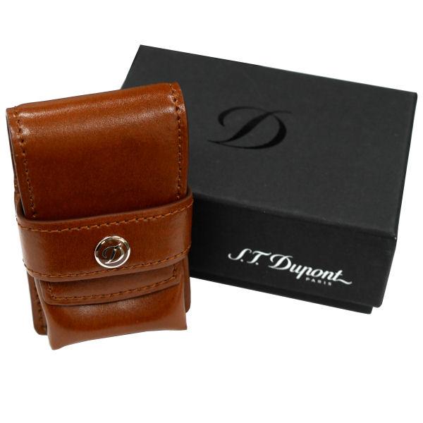 St.デュポン LINE2 ラインツー専用ライターケース ブラウン 1080124 正規品 ギフトプレゼント
