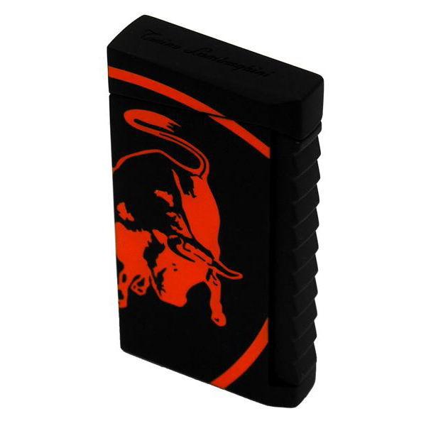 Lamborghini ランボルギーニ 電子ガス ターボライタージェットフレーム式 IL Toro matte black/orange 正規代理店品 ギフト プレゼント