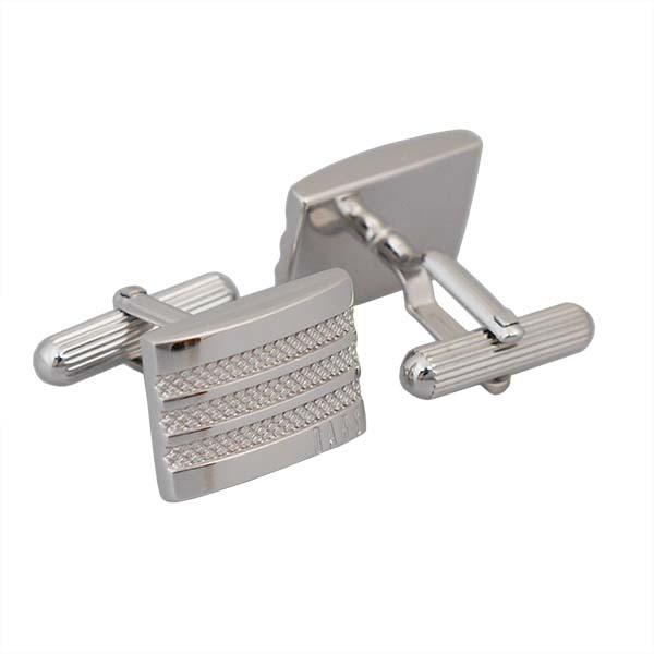 ダックス DAKS カフスボタン cuffs カフスリンクス ロジウム DC10074 ギフトプレゼント贈答品