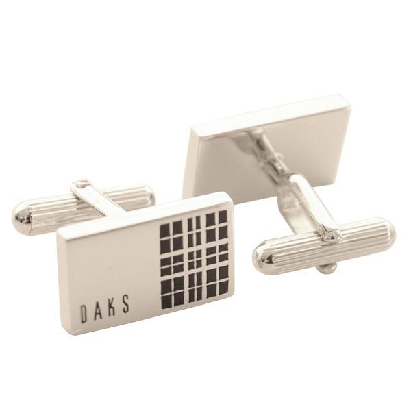 ダックス DAKS カフスボタン cuffs カフスリンクス DC12042 ロジウム/エポキシ ギフトプレゼント贈答品