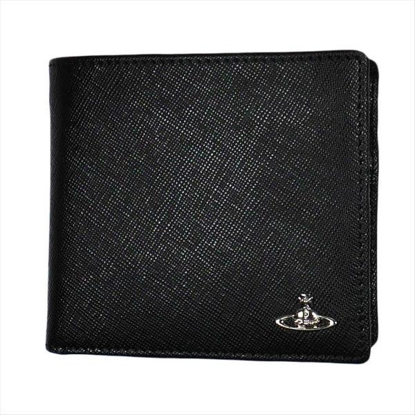 ヴィヴィアン・ウエストウッド KENT ケント 二つ折り財布 51010016 BLACK 18SS No-10 ギフト プレゼント 贈答品 誕生日祝い 成人式