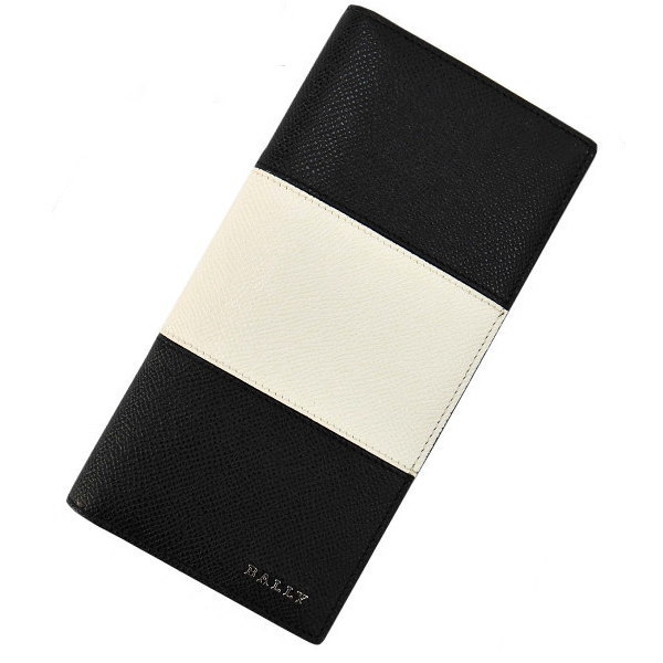 BALLY バリー 長財布(ファスナー小銭入れ)ブラック LALIRO BOLD 6205510 [ギフト プレゼント 贈答品 記念品 就職祝い 昇進祝い]