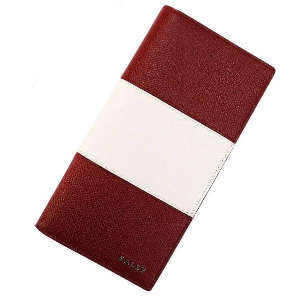 BALLY バリー 長財布(ファスナー小銭入れ)レッド LALIRO BOLD 6205512 [ギフト プレゼント 贈答品 記念品 就職祝い 昇進祝い]