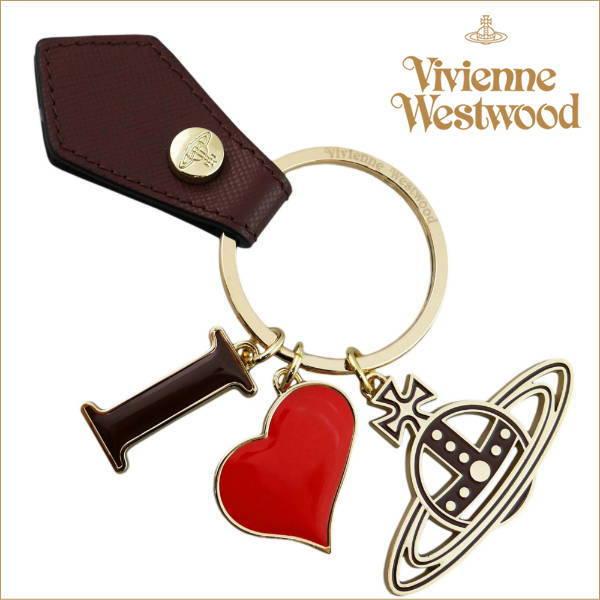 ヴィヴィアン・ウエストウッド キーリング キーホルダー vienne Westwood 321566-005 ボルドー ギフトプレゼント【送料無料】
