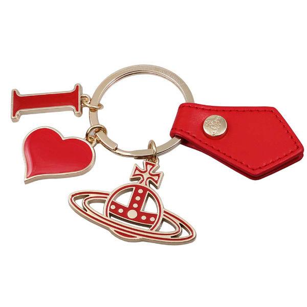 ヴィヴィアン・ウエストウッド キーリング キーホルダー vienne Westwood 82030009-red レッドxゴールド ギフトプレゼント【送料無料】
