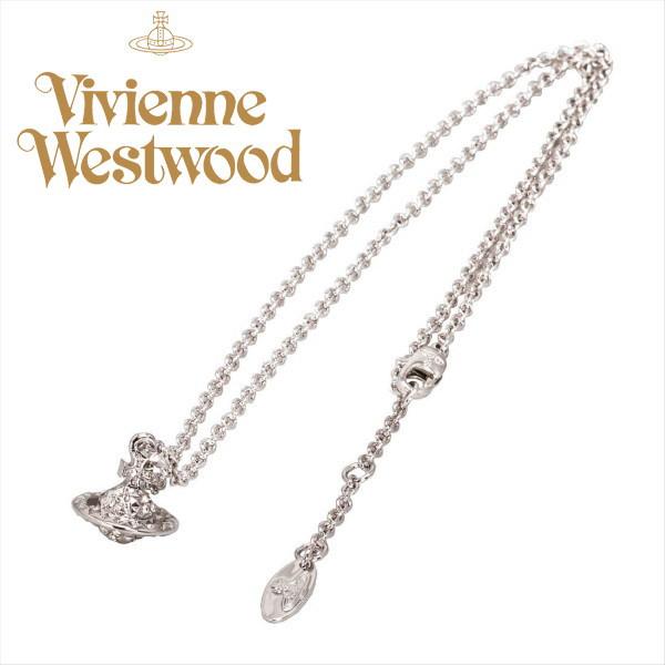 ヴィヴィアン ネックレス シルバーオーヴ メイフェア3D スモール ORB Vivienne Westwood ギフト プレゼント 誕生日