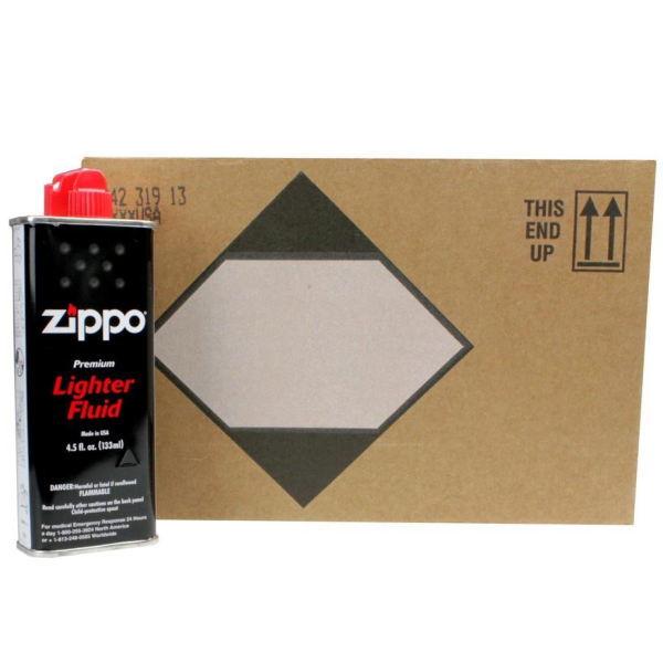 【超お得品】zippo ジッポー 純正オイル 小缶 133ml 24本セット(カートン販売) DM便(旧メール便)は不可