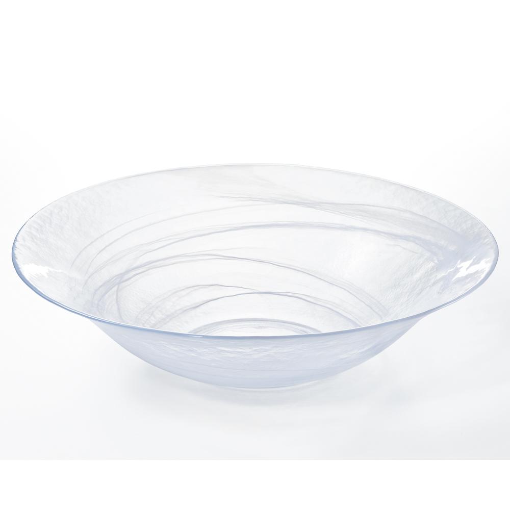 【 送料無料 】 DECObowl 450大皿 大鉢 生け花 花器 ハンドメイド グラス ガラス食器 アデリア 石塚硝子 誕生日プレゼント