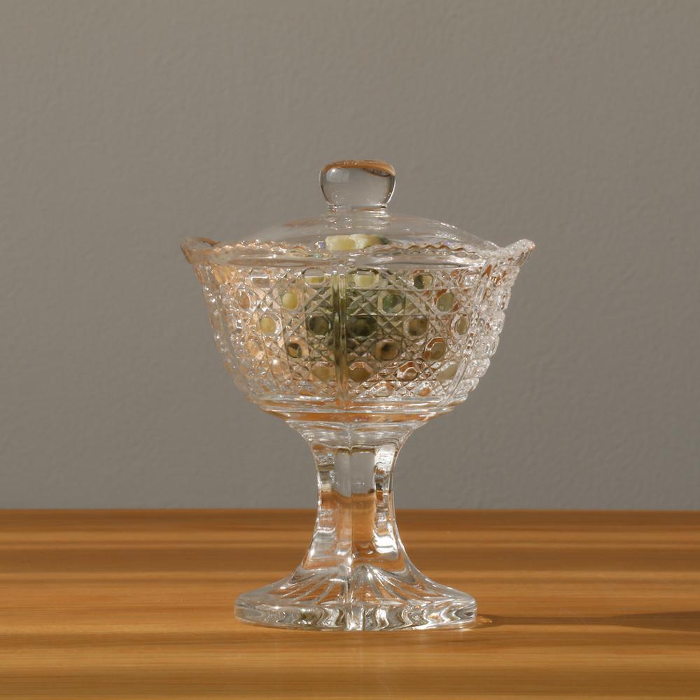 【 送料無料 】 蓋付珍味 6個入グラス ガラス食器 アデリア 石塚硝子 誕生日プレゼント