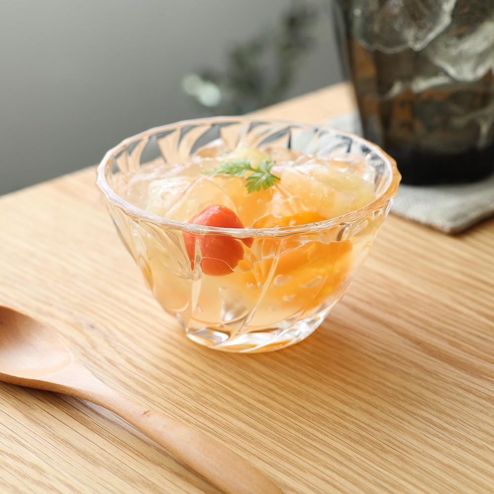 ソワール豆鉢 お求めやすく価格改定 6個入 bowl ラッピング無料 小鉢 サラダ アデリア 誕生日プレゼント 石塚硝子 ガラス食器 ヨーグルト