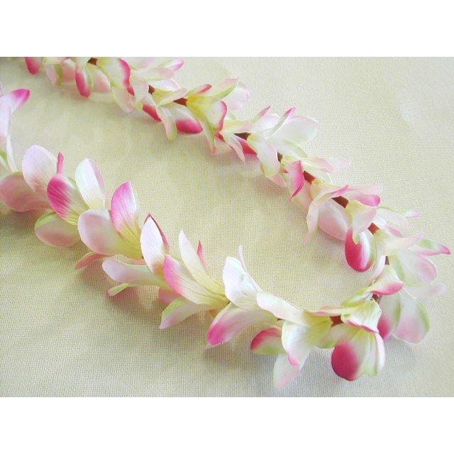 贈呈 とっても可愛いプルメリアレイピンク フラダンス プルメリアレイ ピンク お気に入 品番FL001