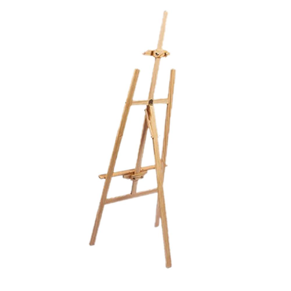 送料無料 プロも認めた本格絵画スタンド イーゼル Sサイズ 木製 『4年保証』 絵画スタンド 高さ調節 水彩画 画材 写生 看板立て 爆売り 油絵 EZEALU-S スケッチ
