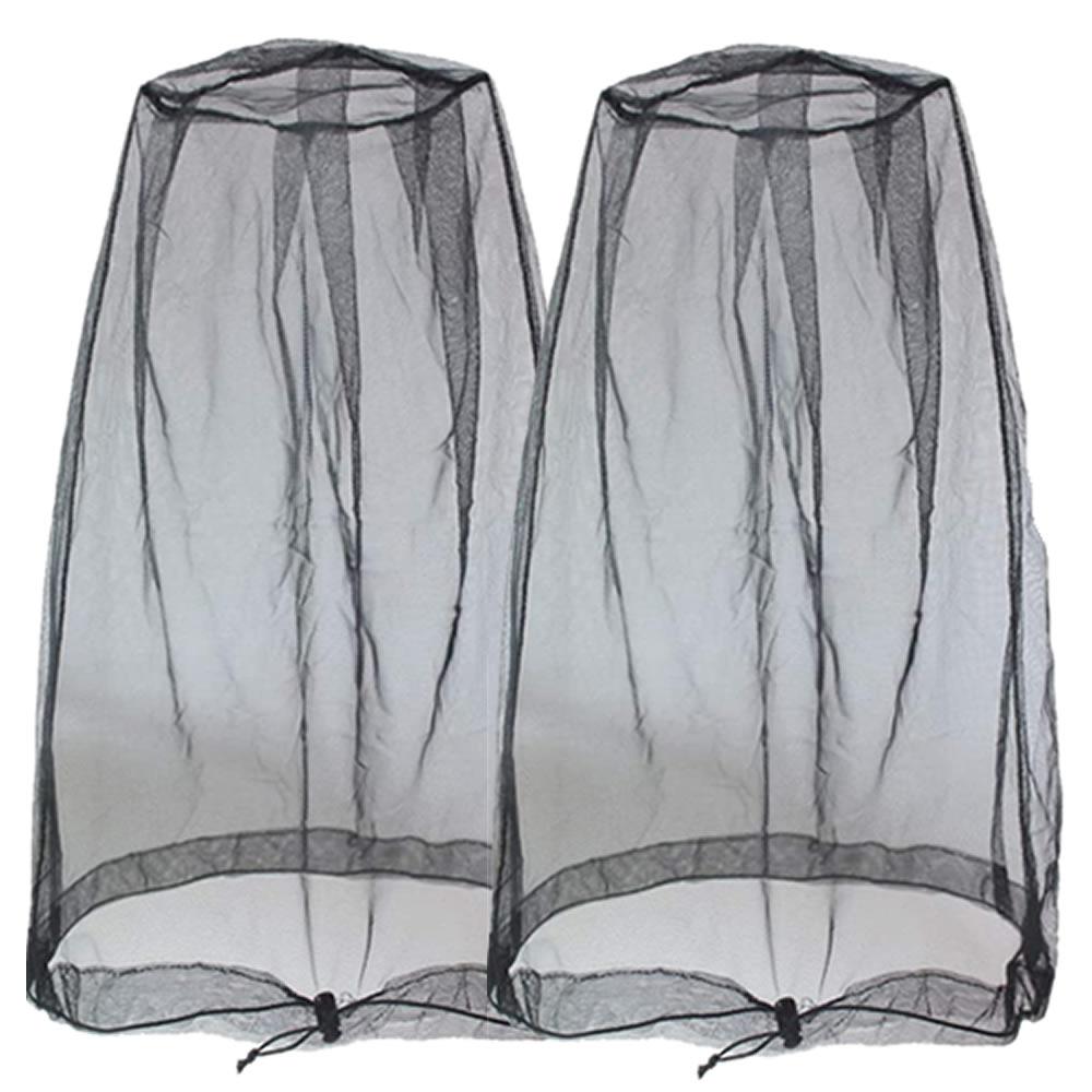 送料無料 視界を遮らず虫よけ 人気急上昇 2個セット 蚊よけ 虫除け ネット 蚊帳 防虫 ヘッドネット 大好評です ガード 頭 ポータブル KAHEAD メッシュ モスキート カバー 虫対策 フェイスカバー シールド 顔