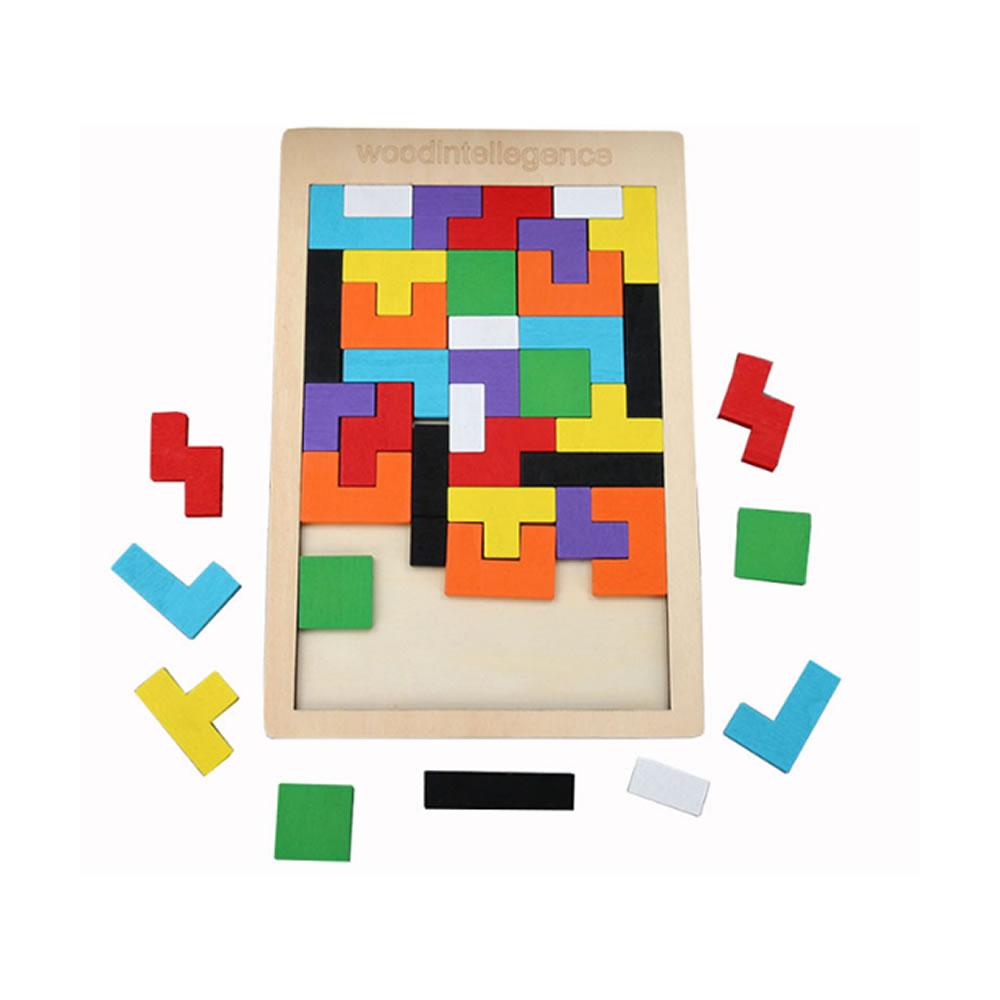 楽天市場 送料無料 木製パズル子供 想像力 おもちゃ 遊び 知育 カラフル お洒落 赤ちゃん 面白い パーティー 多人数 ゲーム Tumitoris Shop Kurano