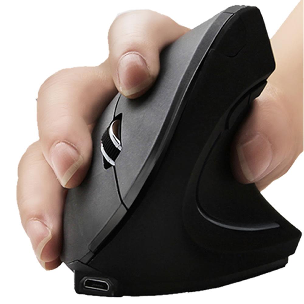 選択 送料無料 6つのKEY搭載の最新エルゴノミクス無線マウス 2.4G ワイヤレスマウス 縦型 無線 期間限定 エルゴノミクス 6つのKEY搭載 800 5ボタン 負担 1200 軽減 光学式 1600 DPI WAMUSA80