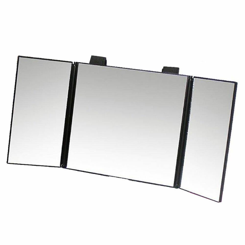 クレジット決済のみ送料無料 サンバイザー 設置型 三面鏡 超特価SALE開催 車内 化粧 カンタン取付 かがみ 毎週更新 車でメイク SHANAI3MENKYOU カーミラー