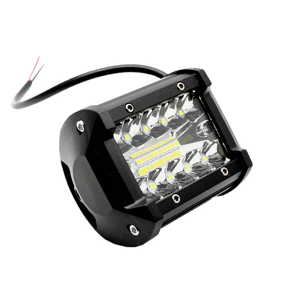 送料無料 作業灯 LED 新登場 ワークライト 2個セット 60W 狭角30度 汎用 12V-24V対応 車外灯 4インチ 農業機械 フラッドライト 激安超特価 2-OVERSAL