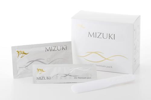 【送料無料※一部地域は除く】 MIZUKI(A剤:25g・B剤:3g×10包) 水素パック