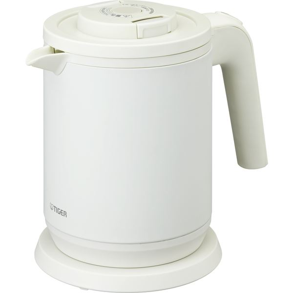蒸気レス電気ケトル <わく子> 0.8L マットホワイトtopseller
