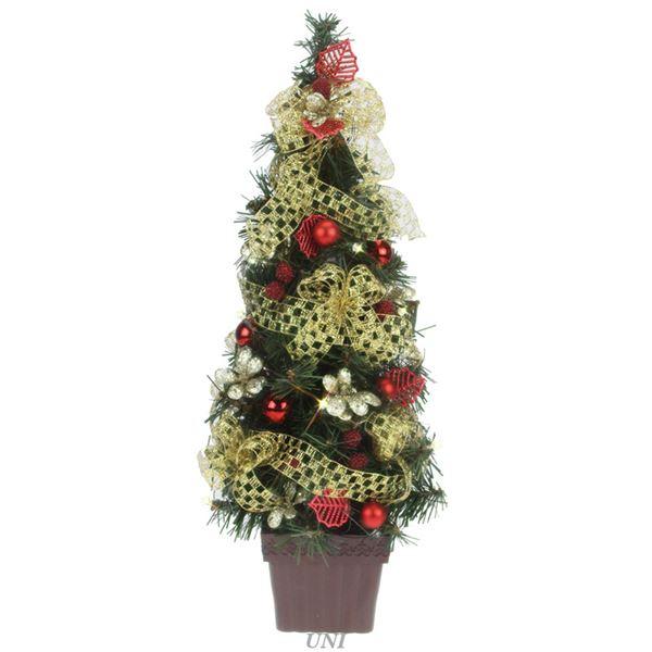 クリスマスツリー 【ゴールドメッシュ】 高さ約45cm 『デコレーションツリー』 〔イベント パーティー〕topseller