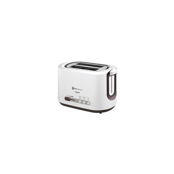 (まとめ) TESCOM トースター Pure Natura ホワイト CT30-W 【×2セット】topseller