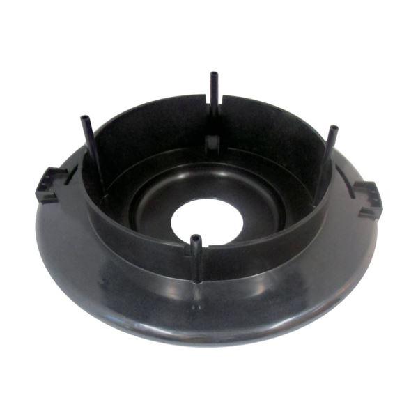 (まとめ)TRUSCO 業務掃除機乾湿両用クリーナーTVC134A用モーター台(黒) 5606101000 1台【×3セット】topseller