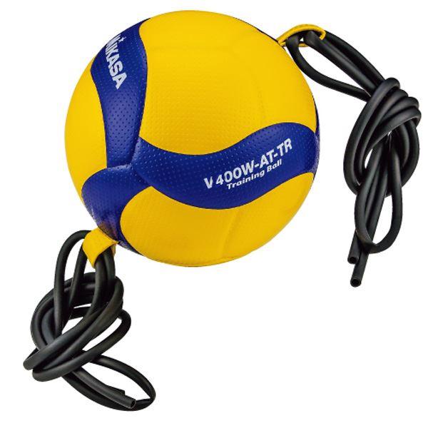 MIKASA(ミカサ)バレーボール トレーニングボール4号球 ゴムひも固定式アタック練習用【V400WATTR】topseller