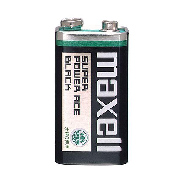 (まとめ)マクセル マンガン乾電池 BLACK9V形 6F22(BN) 1B 1セット(10本)【×3セット】topseller