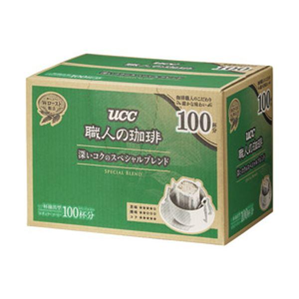 (まとめ)UCC上島珈琲 職人の珈琲ドリップコーヒー 深いコクのスペシャルブレンド 1箱(100袋入) 350321【×2セット】topseller