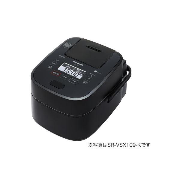 パナソニック(家電) スチーム&可変圧力IHジャー炊飯器 1.8L (ブラック)topseller