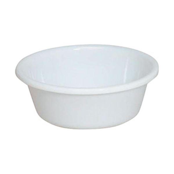 (まとめ)アイリスオーヤマ 湯おけ パールホワイト BO-270AG 1個【×20セット】topseller