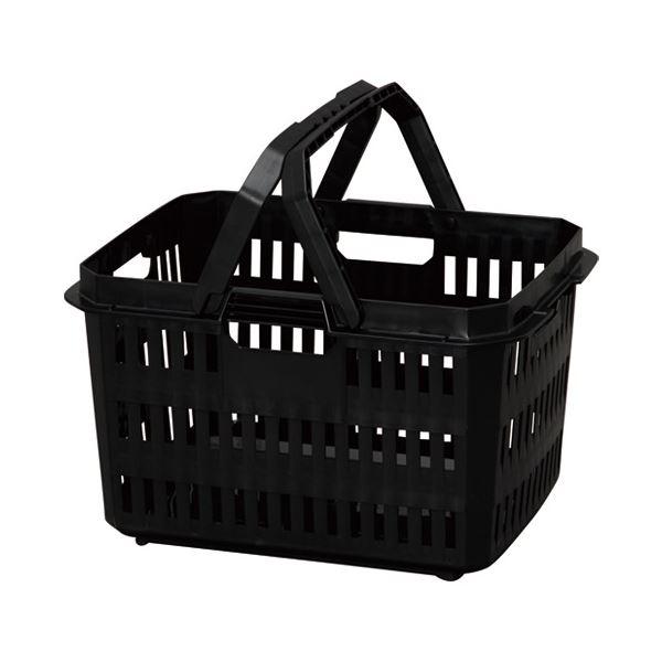 (まとめ) アイリスオーヤマ ハードプロバスケット HPB-37 ダークグレー【×5セット】topseller