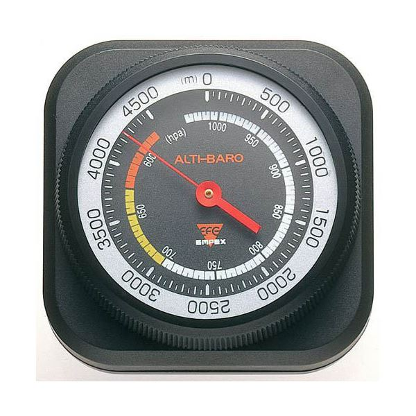 (まとめ)EMPEX 高度・気圧計 アルティ・マックス4500 FG-5102【×2セット】topseller