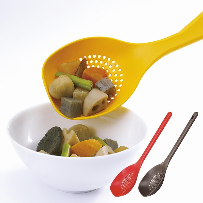 マーナ公式 MARNA マーナ セール特別価格 炒める つぶす メーカー再生品 湯切り 盛り付けがこれ1本で スプーンザル スプーン キッチンツール K144 ざる キッチン用品 ヘラ