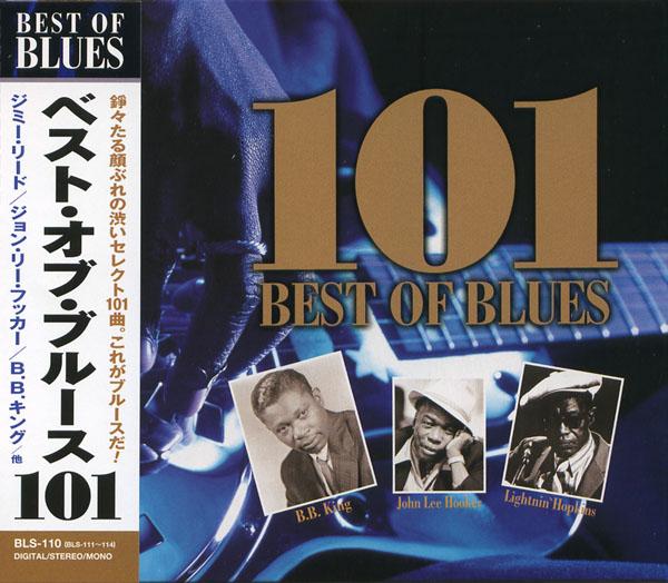 101 best of blues CD4 枚組 Jimmy lead / John Lee Hooker /B B  King / et al