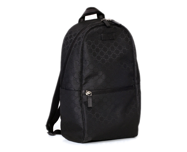 A Gucci backpack 449181 G1XYN 8615 new article men rucksack GUCCI rucksack  GG nylon / blackout let direct management regular article is genuine