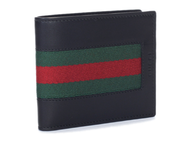 dd5417c61a31 408826 Gucci folio wallet men CVL1N 1060 black GUCCI wallet (there is a  coin purse) leather genuine leather black outlets regular article genuine  article is ...