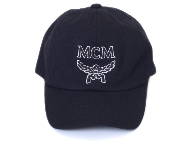 4808cf00f The MCM cap CAP MEC9S2K02BK001 black MCM logo and Laurel Wreath logo  embroidery regular article direct management is new