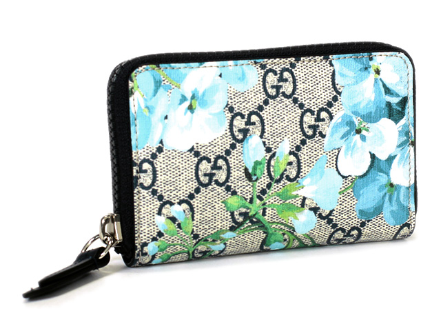80a67360cf97 Brand Mart MON CHERIE: Gucci coin case 546354 PVC leather bloom ...